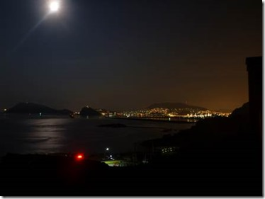 View of Busan from the Pusan hostel